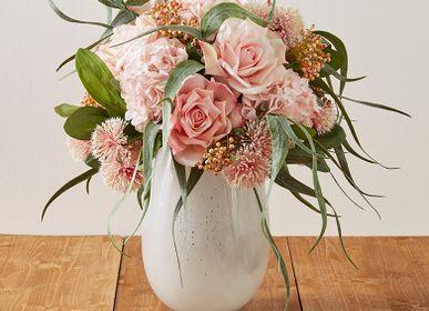 Décorations florales - Bouquet rose real touch - LOU DE CASTELLANE - Fleurs artificielles plus vraies que nature  - LOU DE CASTELLANE
