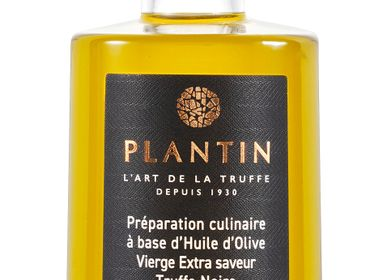 Oils and vinegars - Truffle-flavoured olive oil with truffle pieces - PLANTIN