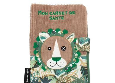 Accessoires pour puériculture - Protège Carnet de Santé Jélékros le lion - LES DEGLINGOS