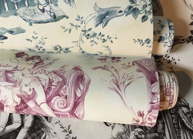 Wallpaper - Wallpaper - Erotic Toile de Jouy collection - Pascale Risbourg - BELGIUM IS DESIGN