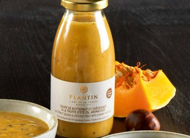 Delicatessen - Butternut squash & chestnut soup with truffles - PLANTIN