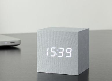 Clocks - Cube Click Clock - GINGKO