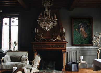 Tableaux - PEINTURE - Noblesse - 81x116 cm - Acrylique sur toile - Maison Fétiche - MAISON FÉTICHE