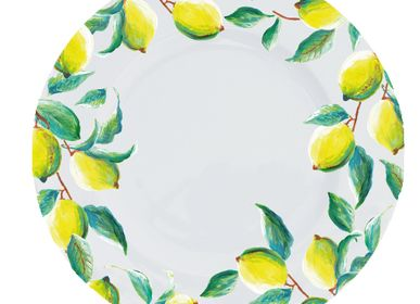 Assiettes au quotidien - Dinnerplate Luscious Lemons - CATCHII