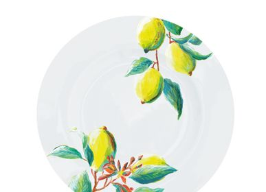 Everyday plates - Luscious Lemons Plate 21 cm - CATCHII