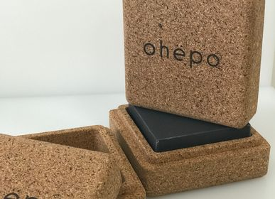 Design objects - Soap box Ëcorce - Cork - Natural material - OHËPO