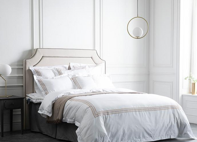 Linge de lit - Collection De Rang, Sienne Or - CROWN GOOSE