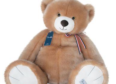 Soft toy - L'Ours Français 65 cm - MAILOU TRADITION - DOUDOU ET COMPAGNIE
