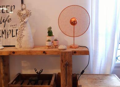 Lampes de tableextérieures - Lampe de table en cuivre - LA LANGUOCHAT