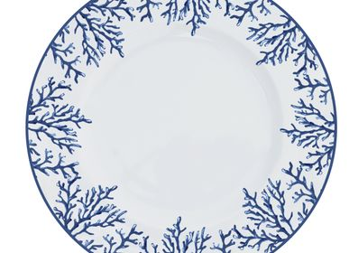 Formal plates - Plate Blue Coral - CATCHII HOMEWARE