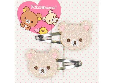 Kids accessories - Korilakkuma hairclips (pair) - LUCIOLE ET PETIT POIS