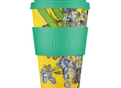 Tea and coffee accessories - Irises 1980, Van Gogh - 14oz Mug - ECOFFEE CUP