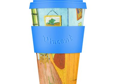 Tea and coffee accessories - The Bedroom, 1888, Van Gogh - 14oz Mug - ECOFFEE CUP