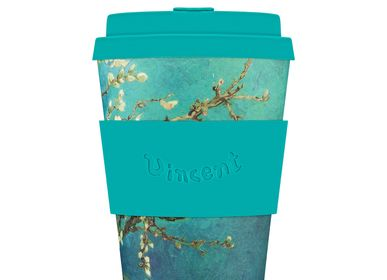 Tea and coffee accessories - Almond Blossom, 1890, Van Gogh - 12oz Mug - ECOFFEE CUP