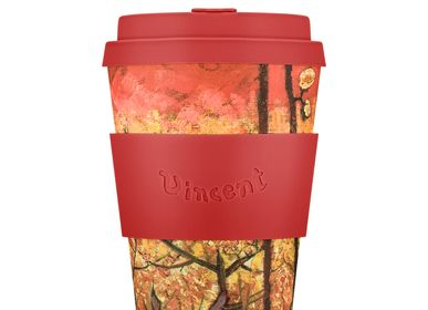 Tea and coffee accessories - Flowering Plum Orchard (after Hiroshige), 1887, Van Gogh - 12oz Mug - ECOFFEE CUP
