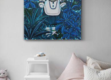 Tableaux - PEINTURE - Inuit - 81 x 100 cm - Acrylique sur toile - Maison Fétiche - MAISON FÉTICHE