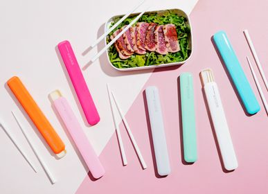Cutlery set - CHOPSTICKS WITH CASE - TAKENAKA BENTO BOX