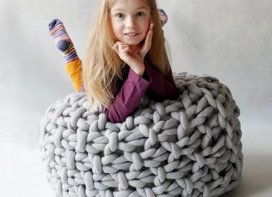 Children's sofas and lounge chairs - Pouf Moss - PANAPUFA
