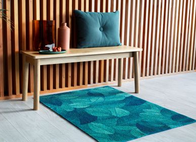 Design objects - Doormat Foliage Blue Dusk - HEYMAT
