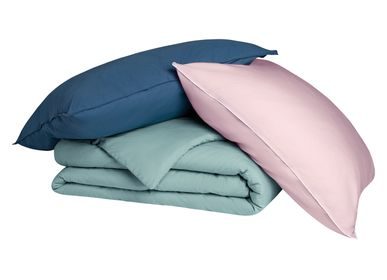 Bed linens - Douceur lavée - collection enfant - BLANC CERISE