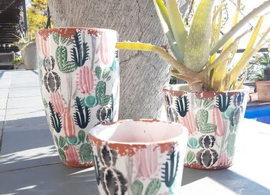 Candles - Cactus Collection Ceramic scented candles - WAX DESIGN - BARCELONA