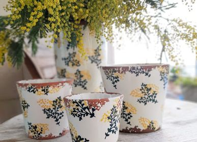 Candles - Garden Collection ceramic scented candles - WAX DESIGN - BARCELONA