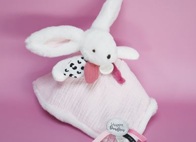 Soft toy - HAPPY BLUSH CUDDLY TOY, 25 CM - DOUDOU ET COMPAGNIE