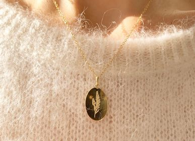 Jewelry - Lavender Locket Necklace - JOUR DE MISTRAL