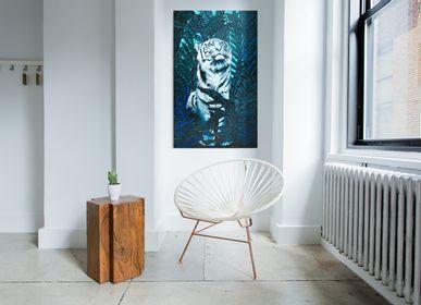 Tableaux - PEINTURE - L'attente - 146 x 89 cm - Acrylique sur toile - Maison Fétiche - MAISON FÉTICHE
