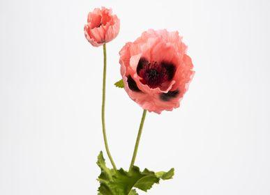 Floral decoration - Coquelicot pizzicato- LOU DE CASTELLANE - Fleurs artificielles plus vraies que nature  - LOU DE CASTELLANE