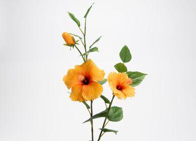 Floral decoration - Hibiscus syriacus - LOU DE CASTELLANE - Fleurs artificielles plus vraies que nature  - LOU DE CASTELLANE