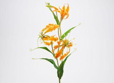 Floral decoration - Gloriosa Lily - LOU DE CASTELLANE - Fleurs artificielles plus vraies que nature  - LOU DE CASTELLANE