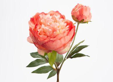 Floral decoration - Pivoine fashion - LOU DE CASTELLANE - Fleurs artificielles plus vraies que nature  - LOU DE CASTELLANE