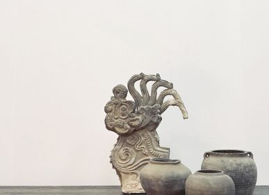 Decorative objects - Old Chinese Old House Decorative Brick - THE SILK ROAD COLLECTION