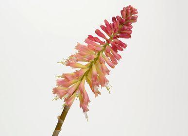 Décorations florales - Kniphofia jade - LOU DE CASTELLANE - Fleurs artificielles plus vraies que nature  - LOU DE CASTELLANE