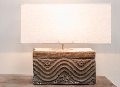 Design objects - Brick sculpture table lamp - THE SILK ROAD COLLECTION
