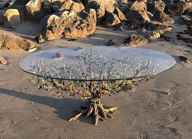 Pièces uniques - Table basse 120x70cm h 50cm - L'OLIVIER FORGÉ