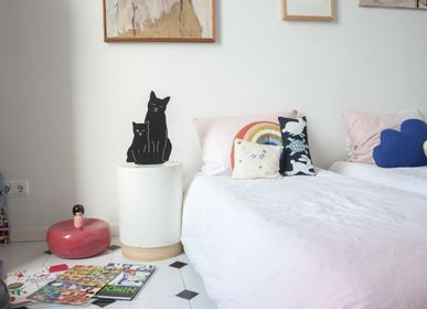 Luminaires pour enfant - THE KITTIES LAMP - NOIR - GOODNIGHT LIGHT