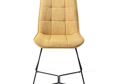 Chairs - Ota Dining Chair - Bumble Bee, Beehive Black - JESPER HOME