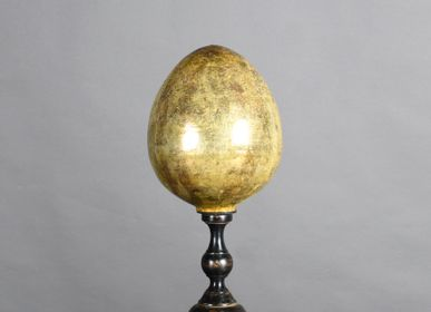Decorative objects - Egg on stand  - ATELIERS C&S DAVOY