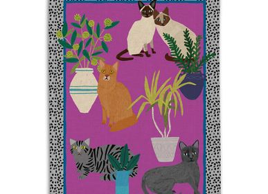 Kitchen linens - Cats and Dogs - Kitchen Linens  - AVENIDA HOME