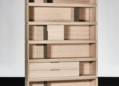 Bookshelves - OLBIA BOOKCASE - XVL HOME COLLECTION
