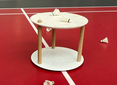 "Coffee tables - Table by Constance - Edition ""Volants recyclés"" - DIZY"