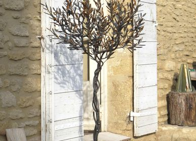 Unique pieces - immortal olive tree - L'OLIVIER FORGÉ