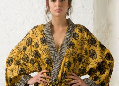 Homewear - COLETTE KIMONO - Ideal for a day at home in style ! - ROSHANARA PARIS