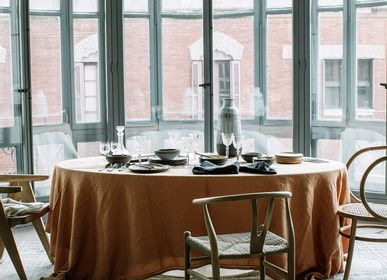Table linen - Washed linen tablecloth - LO DE MANUELA