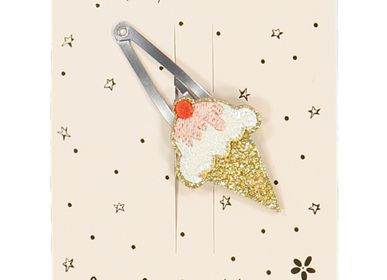 Hair accessories - Ice cream hairclip  - LUCIOLE ET PETIT POIS
