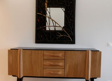 "Sideboards - Buffet Collection ""Bas noirs"" - LAUDREN THIERRY"