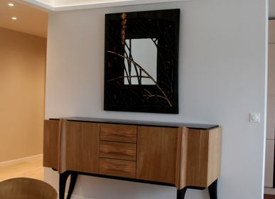 """Sideboards - Buffet Collection """"Bas noirs"""" - LAUDREN THIERRY"""