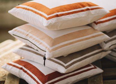 Fabric cushions - 50x50 Cushion Cover - Washed Cotton - Cap Sa Sal - LO DE MANUELA